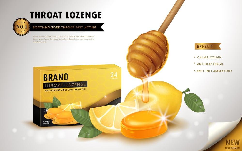 lozenges of manuka honey